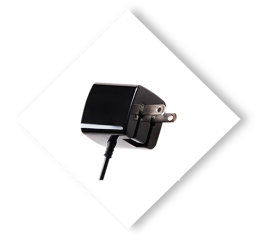 Apple Certified Wall Charger Black 3ft